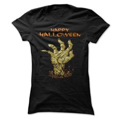 HAPPY HALLOWEEN DEVIL HANDS T-Shirts, Hoodies. CHECK PRICE ==► https://www.sunfrog.com/Holidays/HAPPY-HALLOWEEN-DEVIL-HANDS.html?id=41382