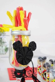 Mickey Mouse Disney Birthday Brunch Breakfast Party Planning Ideas