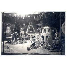 Christmas Window 1949 - Frederick & Nelson in Seattle had the BEST windows!!!