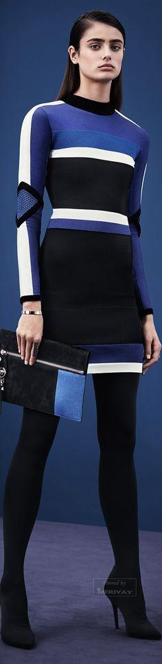 Farb-und Stilberatung mit www.farben-reich.com - Versace.Pre-Fall 2015.