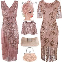 Rose Gold Dress Flapper Dresses Evening Gowns Christmas Cosplay Costume 20 - Gold Dresses - Trending and beautiful Gold Dresses - 0 The post Rose Gold Dress Flapper Dresses Evening Gowns Christmas Cosplay Costume 20 appeared first on Dress Honey. Prom Gowns Vintage, Gold Cocktail Dress, Evening Cocktail, Evening Party, Ball Gown Dresses, Flapper Dresses, Sexy Dresses, Junior Party Dresses, Sequin Bridesmaid Dresses