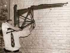 """Brian Bender pioneered """"Target Shooting, Single Rifle for the Extremely Short"""" at the '53 Olympics."""
