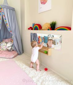 Toddler Learning Activities, Infant Activities, Baby Play Areas, Baby Equipment, Pull Up Bar, Montessori Baby, Toddler Books, Playroom, Baby Boy
