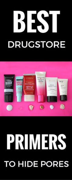 Best Drugstore Makeup Dupes- BEST DRUGSTORE PRIMERS TO HIDE PORES - Simple DIY Tutorials That Cover The Best Drugstore Dupes And Products For Foundation, Contouring, Lipsticks, Eye Concealer, Products For Oily Skin, Dupe Brushes, and Primers From 2016 And Places Like Target. These Are Cheap And Affordable - http://thegoddess.com/best-drugstore-makeup-dupes