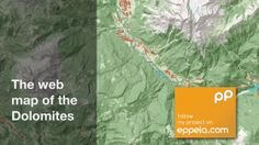 The web map of the Dolomites. Crowd-funding project of the hiking trails web map of the Dolomites. Contribute on eppela.com