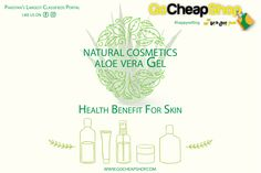 'Advantages of aloe Vera gel'  Natural Ingredient always been love, especially the ones that we use as beauty products. People in Pakistan believe in original and natural stuff. Therefore #gocheapshop have many natural ingredient like 100% original aloe Vera gel. So let's talk about the benefits of using aloe Vera gel.  Calm Sunburn  With calming and cooling properties, Aloe Vera gel is the ideal solution for sunburned skin.  It gives a defensive layer to the skin which holds dampness. Aloe…