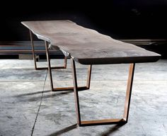English Elm Table by Jeff Soderbergh