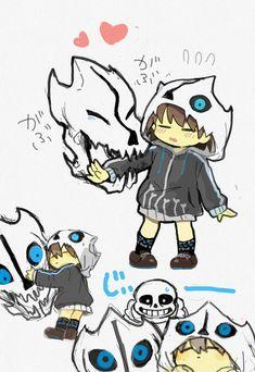 q fofeneo so cute Undertale Game, Frans Undertale, Undertale Comic Funny, Undertale Pictures, Anime Undertale, Undertale Drawings, Undertale Gaster Blaster, Gaster Blaster Sans, Sans E Frisk