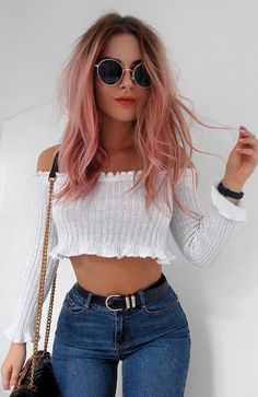 33da258fd450 30+ Perfect Outfit Ideas Your Closet Needs This Spring 2018. Casual Outfits  For SummerCasual Women s ...