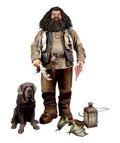 Look what I found on #zulily! Hagrid Deluxe Figurine #zulilyfinds.