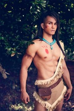 Rule 63 Pocahontas [Cosplay]