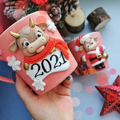 Polymer Clay Disney, Polymer Clay Fairy, Polymer Clay Sculptures, Fimo Clay, Handmade Polymer Clay, Clay Crafts For Kids, Foam Crafts, Christmas Crafts For Kids, Clay Christmas Decorations