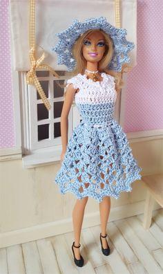 Barbie vous présente aujourd'hui l'ensemble Clélie La fiche contenant les explications de la tenue ai...