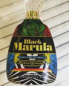 New lotion to try #BlackMarula by #SupreTan! @uniquetansb #uniquetan #uniquetansantabarbara #utsb #santabarbara #goleta #california #bronzingboutique
