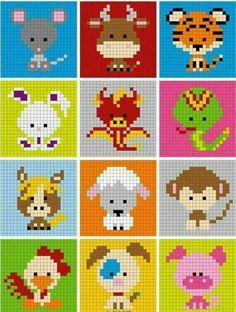 Ideas Crochet Baby Disney Perler Beads For 2019 Pixel Crochet, Bead Crochet Patterns, Perler Patterns, Crochet Chart, Beading Patterns, Knitting Patterns, C2c Crochet, Crochet Baby, Mini Cross Stitch