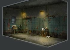 Project Discord - Indie Video Game ~ Janitor Closet Discord, Video Game, Concept Art, Indie, Gallery, Room, Projects, Closet, Design