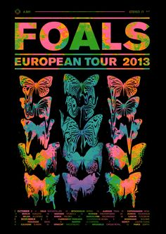 Foals, Euro Tour 2013 by Leif Podhajský