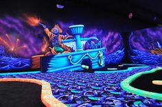 Canton Indoor Golf Center - Canton, CT - High Definition Video Golf Simulators, Black Light Indoor Mini Golf, Golf Leagues, Golf Lessons, Golf Birthday Parties, Golf Corporate Outings