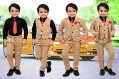 Fashion 2020, Kids Fashion, Stylish Baby Boy, Kids Wear Boys, Baby Boy Dress, Beautiful Children, Designer Dresses, Ethnic, How To Wear