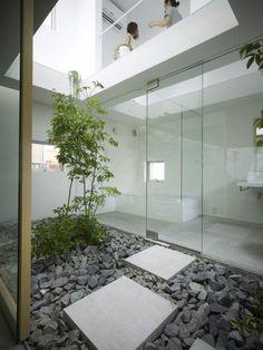 décoration japonais dans la salle de bain, décoration asiatique