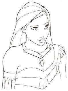 Pocahontas Drawing