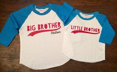 DISCOUNT code ANNABELLE15 for all Vazzie Tees purchases  BIG Brother LITTLE Brother - Brothers Baseball  Shirts - Big MIDDLE Little Brother - Personalized Brother Shirts - Brother Shirts - Boys by VazzieTees on Etsy https://www.etsy.com/listing/245004496/big-brother-little-brother-brothers