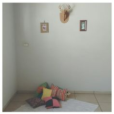 Simple decor - my home. #decor #simple #almofadas #diy