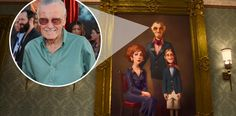 Since Big Hero 6 is based on a Marvel comic, and since Marvel's Stan Lee is a living legend who cameos in almost every Marvel movie, he gets his Big Hero 6 cameo in this painting hung inside Fred's decked-out mansion.