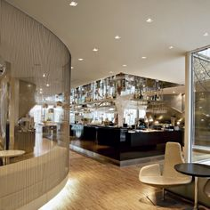 Quad Maxi Recessed LED Adjustable Downlight by Designplan Lighting Downlights, Quad, Restaurants, Divider, Lighting, Room, Furniture, Home Decor, Bedroom