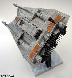 Star Wars: T-47 Snowspeeder, Fertig-Modell ... https://spaceart.de/produkte/sw081.php