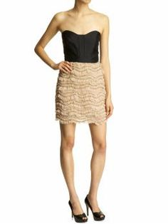 Milly Juliet Coctail Dress from Piperlime. Love the lace look of the skirt.