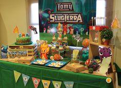 Slugterra Sweet Table by Violeta Glace