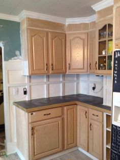 sw s proclassic vs bm s advance, kitchen cabinets, kitchen design, painting