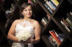 Brighton Savoy bride in hotel lobby