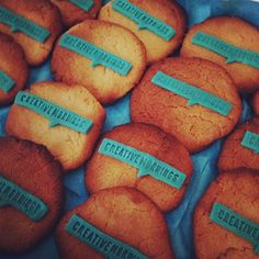 This happened. CreativeMornings cookies from Munich.   Nice instagram, @Andrea Robertson-Taylor!