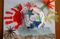 Hermit crab craft-Plan to use this with A House For Hermit Crab book by Eric Carle next year.  Also want to have a hermit crab as a class pet
