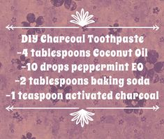 Recipe for DIY Charcoal Toothpaste – Traveling Hippies