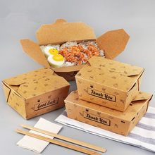 Quality 3 size Kraft Paper Salad Box Disposable Water Proof Takeaway Lunch Fruit Box Camping Supplies Dinnerware with free worldwide shipping on AliExpress Mobile Takeaway Packaging, Food Packaging Design, Disposable Food Containers, Pasta Box, Rice Box, Salad Box, 257, Fruit Box, Snack Box