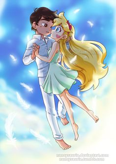 Star and Marco Star Anime, Starco Comic, Star Force, Cute Couple Art, Arte Disney, Star Butterfly, Star Vs The Forces Of Evil, Force Of Evil, Cute Cartoon Wallpapers