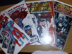 """MARVEL COMICS THE ADVENTURES OF CAPTAIN AMERICA """"SENTINEL OF LIBERTY 4 OF 4 BOOK"""