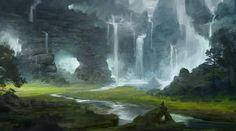 'Caves' by SebastianWagner on DeviantART
