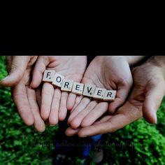 """Engagement picture idea.  We like to play scrabble.  I would probably use the ring for the 'O', like I've seen in other pictures with """"Love"""" spelled out."""