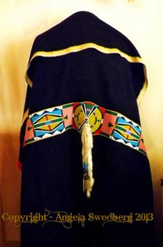 Angela Swedberg: Blanket Strips Native American Regalia, Native American Crafts, Native American Artifacts, Native American Beadwork, American Indian Art, American Indians, American Crow, American Dress, Indian Beadwork
