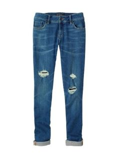 The Lucky Denim Guide: Slim-Slouchy : Lucky Guides : Lucky Magazine