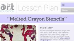 Lesson Plans - The Art of Ed