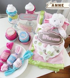 Unique DIY Baby Shower Gifts for  Girls