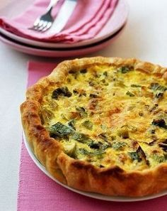Tarta de puerros Quiches, Easy Cooking, Cooking Recipes, Classic French Dishes, Salty Foods, Savory Tart, Kitchen Recipes, No Cook Meals, Food Inspiration