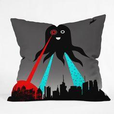 DENY Designs Brandon Dover Yay Throw Pillow 16 x 16 >>> Click for Special Deals #ThrowPillows