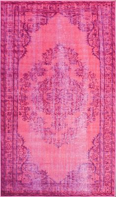 Pink Moroccan Rug.