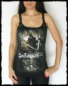 Hey, I found this really awesome Etsy listing at https://www.etsy.com/listing/128883611/six-feet-under-shirt-tank-top-death
